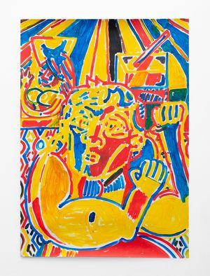 Strong Man 2 by Callan Grecia contemporary artwork