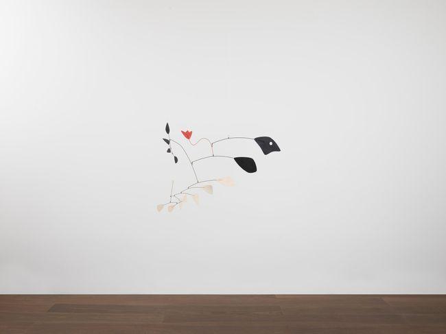 Untitled (Red Tulip) by Alexander Calder contemporary artwork