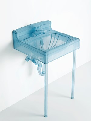 Specimen Series: Basin, Apartment A, 348 West 22nd Street, New York, NY 10011, USA by Do Ho Suh contemporary artwork