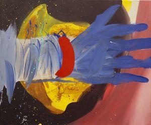 G-Punkt (G Spot) by David Lehmann contemporary artwork painting