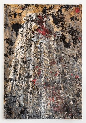 Himmelspaläste by Anselm Kiefer contemporary artwork