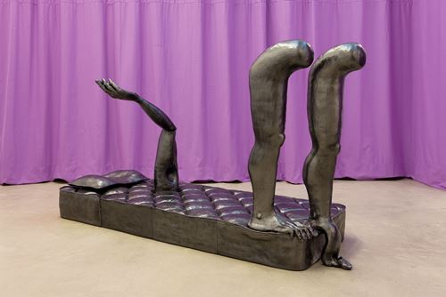 A shatteringly present past by Jesse Wine contemporary artwork sculpture