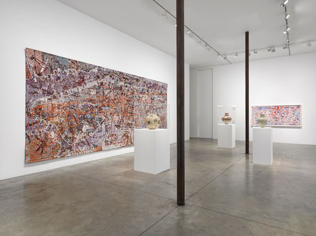 Exhibition view: Grayson Perry, The MOST Specialest Relationship, Victoria Miro, Wharf Road, London (15 September–31 October 2020). © Grayson Perry. Courtesy the artist and Victoria Miro, London/Venice.
