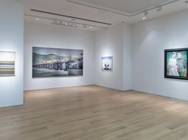 """Group show<br><em>Racket of Cobwebs: Chinese Contemporary Art Group Exhibition</em><br><span class=""""oc-gallery"""">Tang Contemporary Art</span>"""