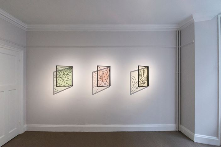 Exhibition view: David Murphy, New Tints, Bartha Contemporary, London (8 September–3 October 2020). Courtesy Bartha Contemporary.