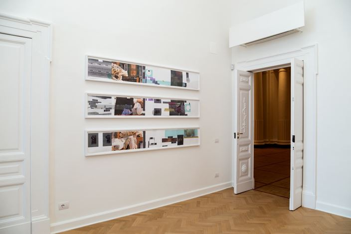 Exhibition view:GroupExhibition, Naples: Mostra Inaugurale,Thomas Dane Gallery, Naples (25 January–24 March 2018). Courtesy Thomas Dane Gallery. Photo: Danilo Donzelli Photography.