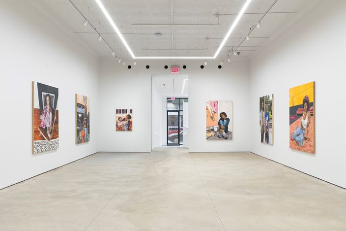 Exhibition view: Gerald Lovell, all that I have, P·P·O·W Gallery, New York (22 January–20 February 2021). CourtesyP·P·O·W Gallery.