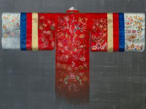 Royal Hanbok II by Helena Parada Kim contemporary artwork