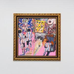 American Cancer by George Condo contemporary artwork