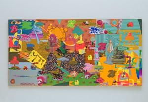 Endless, Nameless by Teppei Kaneuji contemporary artwork