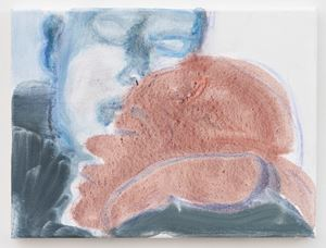 Charlie and Romana by Marlene Dumas contemporary artwork painting, works on paper