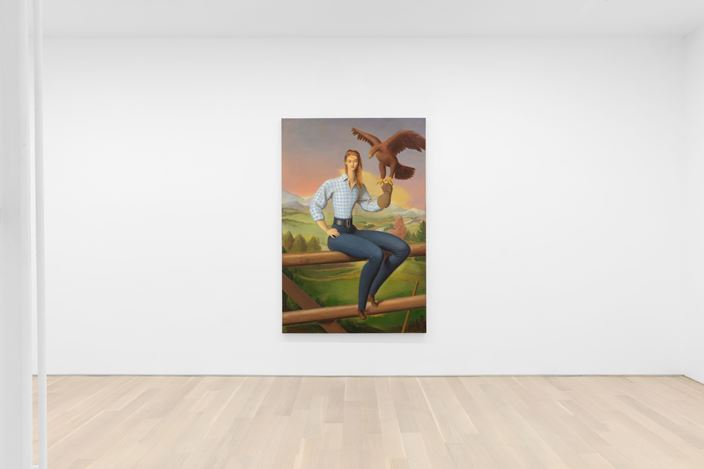 Exhibition view: Jansson Stegner, Almine Rech, New York (3 March–18 April 2020).Courtesy the Artist and Almine Rech. Photo: Matt Kroening.
