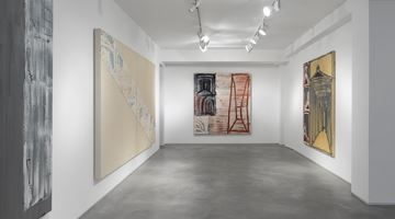 Contemporary art exhibition, Basil Beattie, Pathfinder at Huxley-Parlour, London