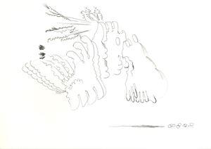 부적01 Heart to Heart01 by Hyunjin Bek contemporary artwork