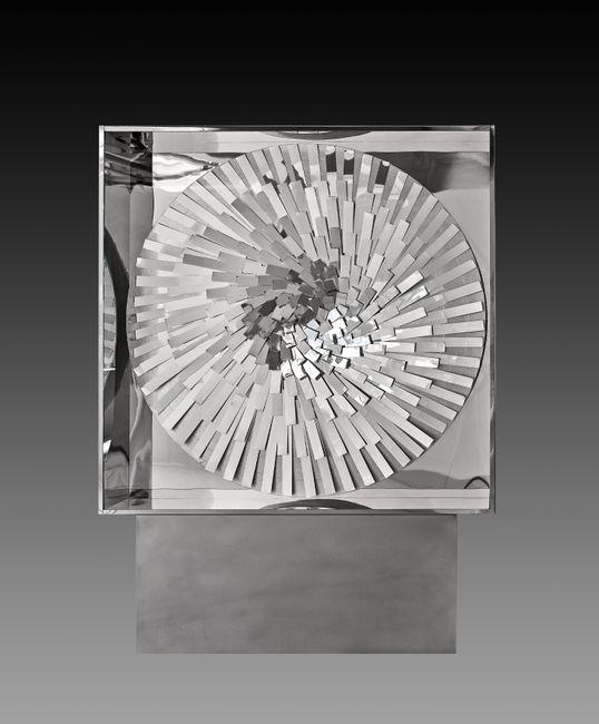 Mirror-Rotation by Heinz Mack contemporary artwork