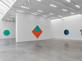 "Leon Polk Smith<br><em>Prairie Moon</em><br><span class=""oc-gallery"">Lisson Gallery</span>"
