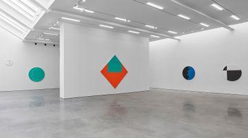 Contemporary art exhibition, Leon Polk Smith, Prairie Moon at Lisson Gallery, West 24th Street, New York, USA