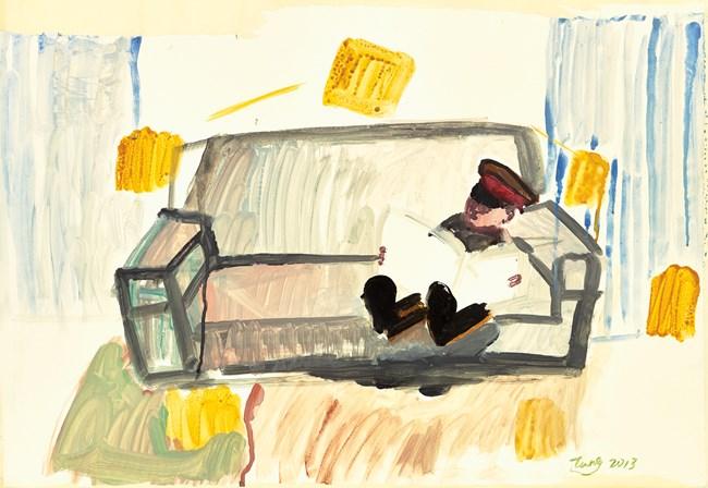 WordPlay: Reading by Tang Zhigang contemporary artwork