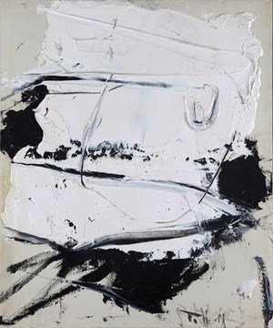 White and Black by Huang Rui contemporary artwork
