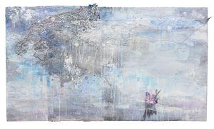 Purple Gladiola 紫蘭 by Szeto Keung contemporary artwork