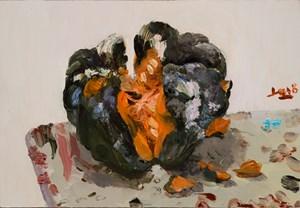 Pumpkin 小南瓜 by Liu Xiaodong contemporary artwork