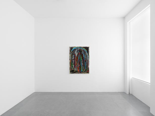 Exhibition view: Josh Smith, Finding Emo, Xavier Hufkens, 6 rue St-Georges, Brussels (7 June–13 July 2019). Courtesy the Artist and Xavier Hufkens, Brussels. Photo:Allard Bovenberg, Amsterdam.