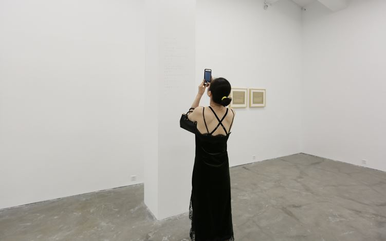 Exhibition view: Liu Chuanghong, Xing'an West Art Group, A Thousand Plateaus Art Space, Chengdu (22 July–22 September 2017). Courtesy A Thousand Plateaus Art Space.