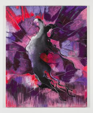 Rebel Entity (Flying Form) by Bettina Scholz contemporary artwork