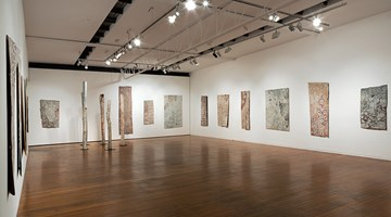 Contemporary art exhibition, Nyapanyapa Yunupingu, Solo Exhibition at Roslyn Oxley9 Gallery, Sydney