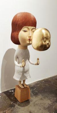 Having A Conversation No.2 by Daisuke Teshima contemporary artwork sculpture