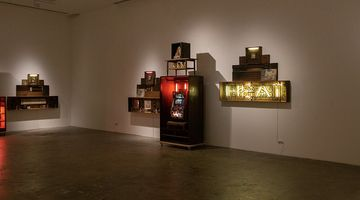 Contemporary art exhibition, Norberto Roldan, Ziggurat at SILVERLENS, Manila