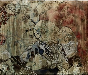 Empty spaces/finding form I by Belinda Fox contemporary artwork