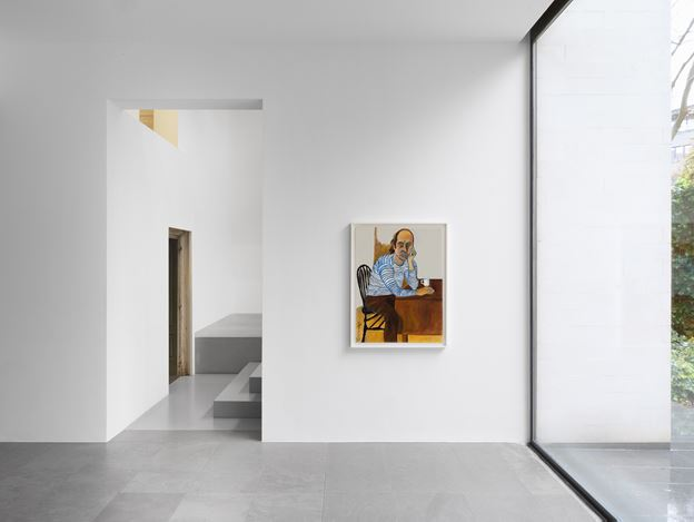 Exhibition view: Alice Neel, Alice Neel in New Jersey and Vermont, Xavier Hufkens, 6 rue St-Georges, Brussels (26 October–8 December 2018). Courtesy Xavier Hufkens, Brussels. Photo: Allard Bovenberg.