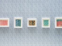 """Yto Barrada<br><em>Paste Papers</em><br><span class=""""oc-gallery"""">Pace Gallery</span>"""