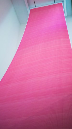 Magenta Painting by Sun Choi contemporary artwork