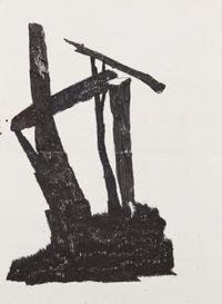 The Rite No.140528 仪式 No.140528 by Chen Yujun contemporary artwork works on paper