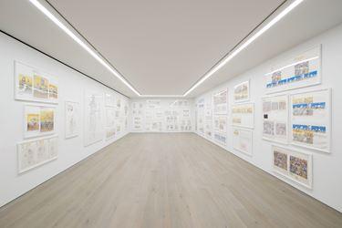 Exhibition view: Takashi Murakami, « Heads ↔ Heads », Perrotin, New York (28 April–17 June 2018). © Takashi Murakami/Kaikai Kiki Co., Ltd. All Rights Reserved. Courtesy Perrotin. Photo: Guillaume Ziccarelli.
