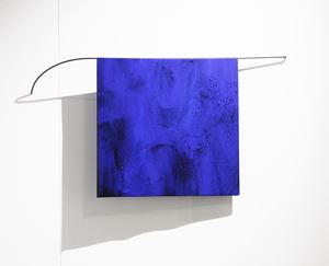 Blue Fold by Helen Calder contemporary artwork