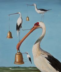 Bells and Whistles II by Joanna Braithwaite contemporary artwork painting