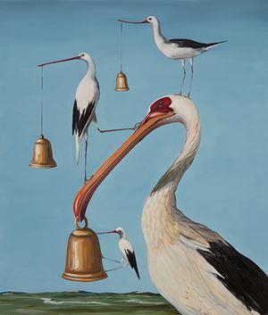 Bells and Whistles II by Joanna Braithwaite contemporary artwork