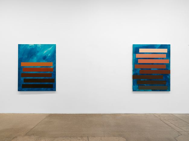 Exhibition view: Tariku Shiferaw,It's a love thang, it's a joy thang, Galerie Lelong & Co., New York (1 April–15 May 2021). Courtesy Galerie Lelong.