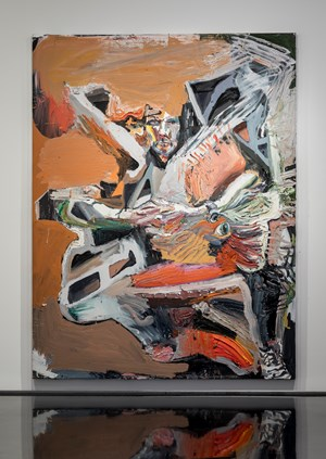 Rob Rosenburg, jumped off a cliff by Ben Quilty contemporary artwork