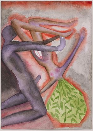 A Story Well Told VIII by Francesco Clemente contemporary artwork