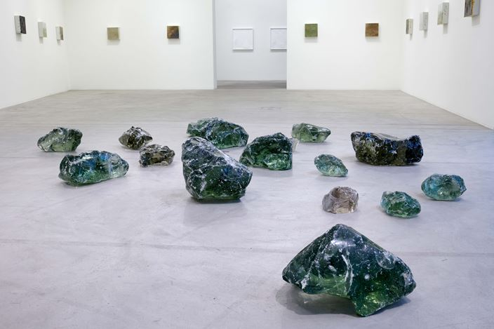 Exhibition view: Michel Comte, Erosion I, Galerie Urs Meile, Lucerne (21 November 2020–29 January 2021).Courtesy the Artist and Galerie Urs Meile, Beijing-Lucerne.