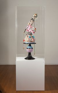 salad bowl #6 by Del Kathryn Barton contemporary artwork sculpture