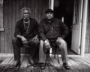 Levon Brooks and Kennedy Brewer by Isabelle Armand contemporary artwork