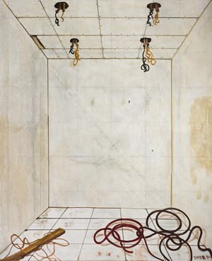 Unfinished Space No.1 by Zhang Enli contemporary artwork