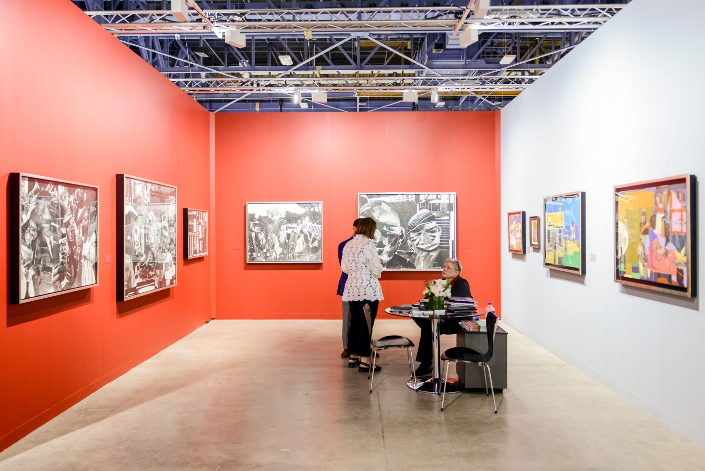 Romare Bearden at DC Moore Gallery, Art Basel in Miami Beach. © Art Basel.