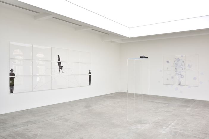 Exhibition view: Giulio Paolini, Galerie Marian Goodman, Paris (15 March–11 May 2019). Courtesy Galerie Marian Goodman.