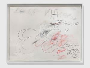 Seguso by Cy Twombly contemporary artwork